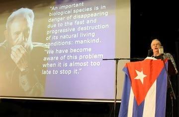 Ian Angus speaking in Sydney, April 10, 2009