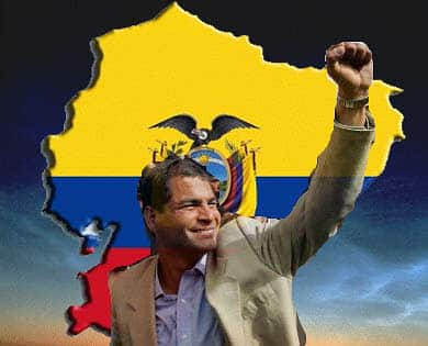 Until rich countries are held to account for the economic and environmental crimes they have committed, no foreign leftist has a right to denounce the Ecuadorean government led by Rafael Correa for using the country's natural wealth to meet its peoples' needs.