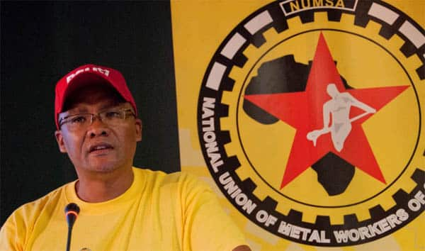 "South African Metalworkers Union: ""Reducing global warming requires fundamental restructuring of the capitalist system. At the centre of such restructuring is the question of who owns the means of energy production, transmission, distribution and consumption."""