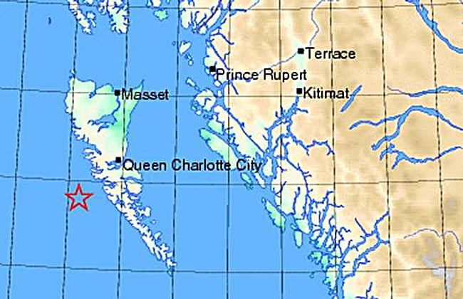 Northern Gateway plan: ship oil through an active earthquake zone