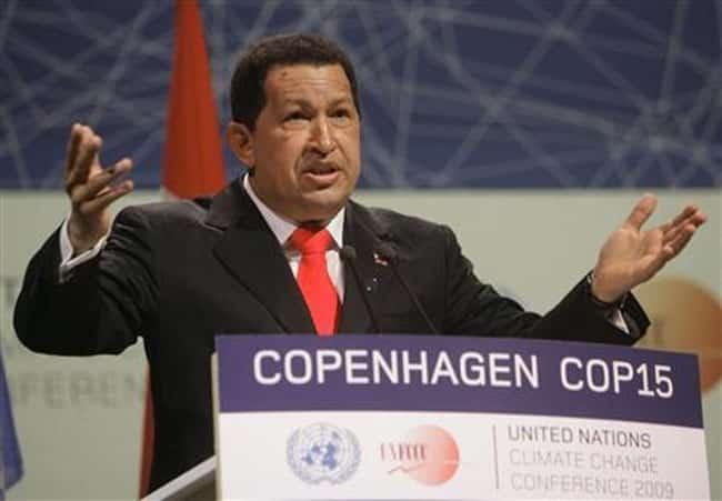 Hugo Chavez Copenhagen