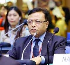 Prakesh Mathema of Nepal is Chair of the Least Developed Countries group at the UN climate negotiations
