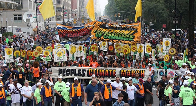 The climate movement is central, but we have to fight on all fronts, combining broad defense of human rights and opposition to war and imperialism, with the fight to save Earth as a place of human habitation.