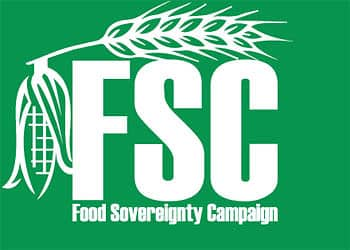South Africa Food Sovereignty Campaign