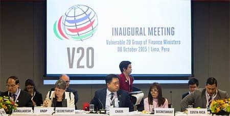 V20 inaugural meeting