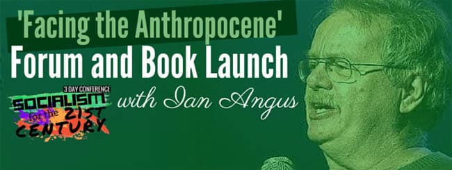 Facing Anthropocene Book Launch