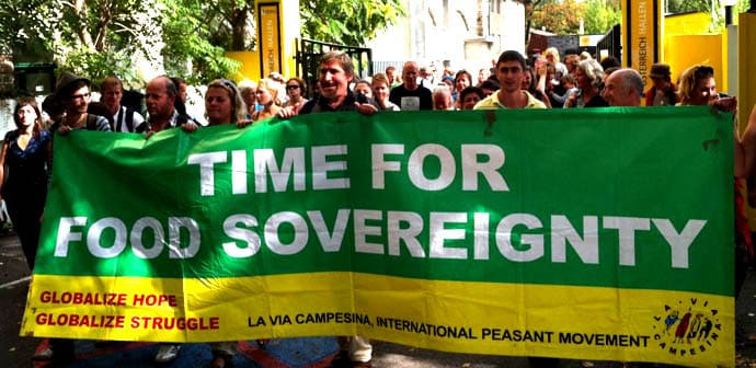 Food Sovereignty banner