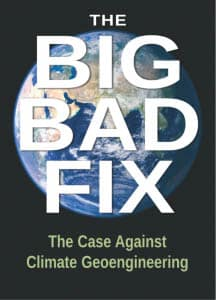 The Big Bad Fix powerfully exposes the dangers of deliberate climate modification, and presents alternatives. A deeper focus on fighting the fossil industry would strengthen the argument.