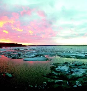 Warming of over 2 degrees Celsius is above the global average and well above the average of the rest of the Arctic region